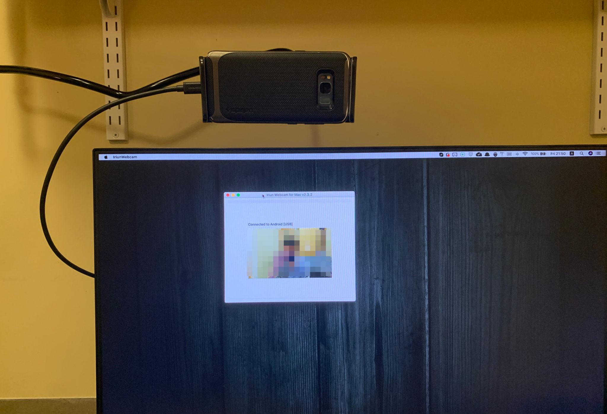 スマホをパソコンのWebCamとして使う裏技
